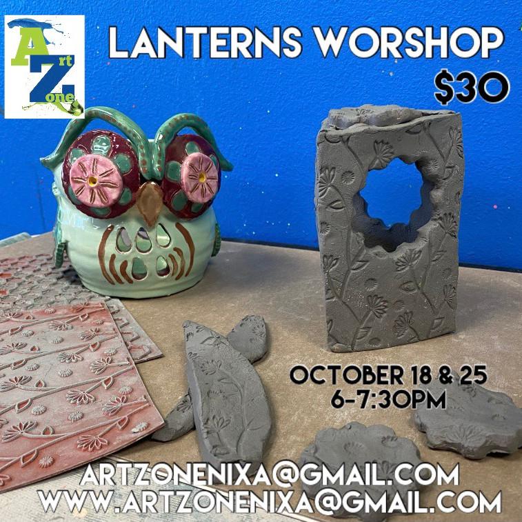 Clay Lantern Workshop