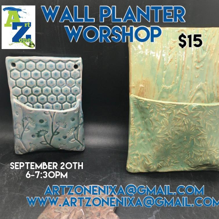 Wall Planter Workshop