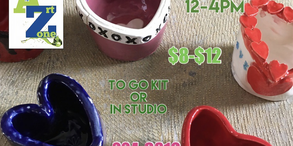 Heart Bowls & Mugs