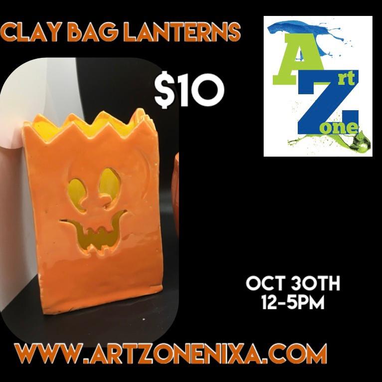 Clay Bag Lanterns