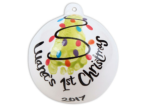 "3.5"" Ball Ornament"