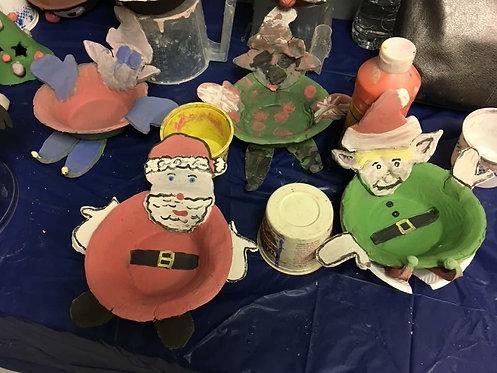 Create Santa Bowl