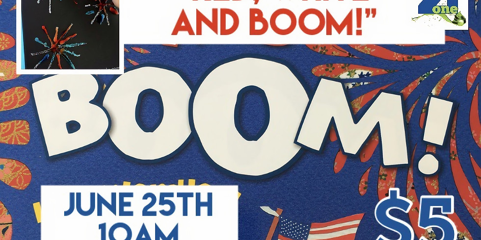 """StoryTime """"Red, White and Boom"""""""