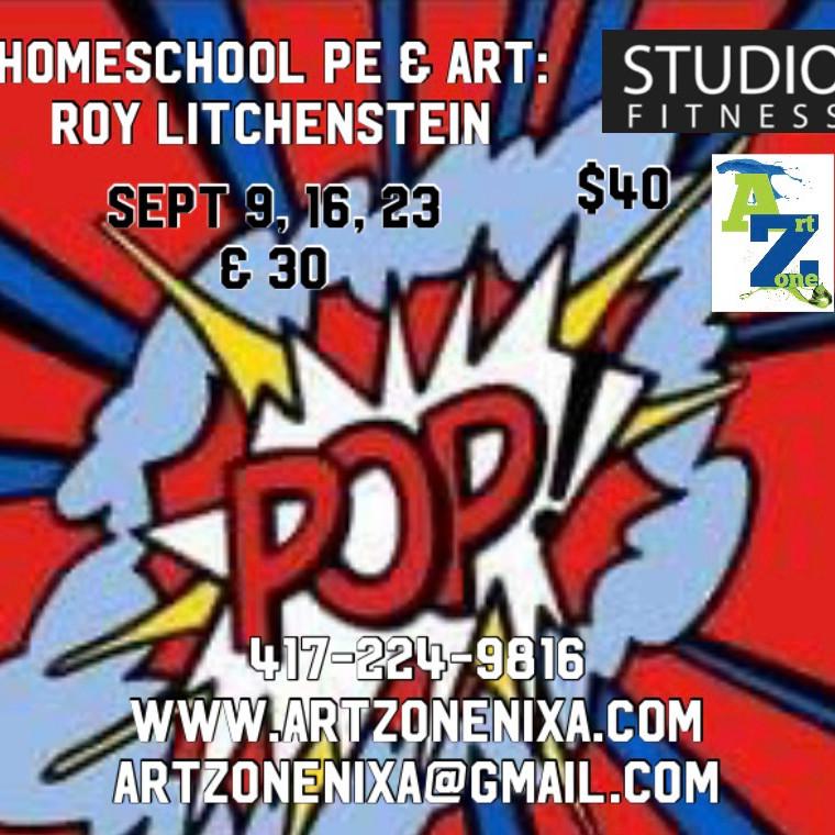 Homeschool Art & PE: Roy Litchenstein