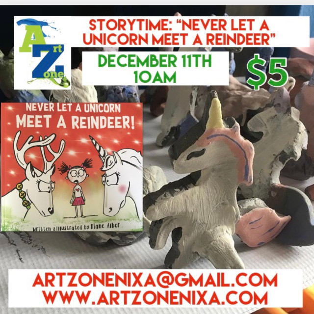"""StoryTime """"Never Let a Unicorn meet a Reindeer"""""""