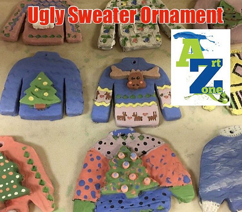 Create Ugly Sweater Ornanment