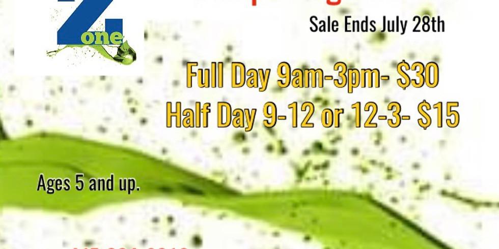 Sale- End of Summer Camp Registration