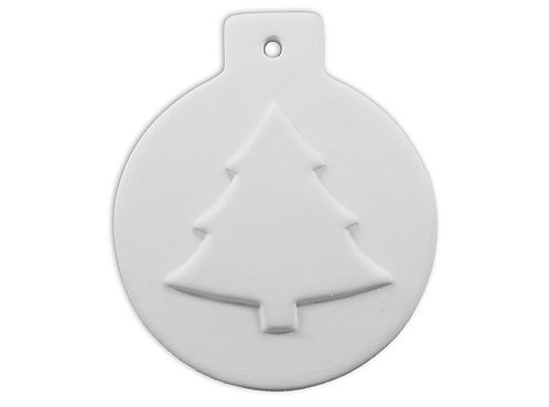 Flat Ball Christmas Tree Ornament