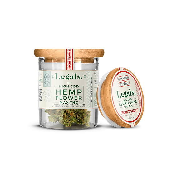 Legals Secret Sauce Hemp Flower
