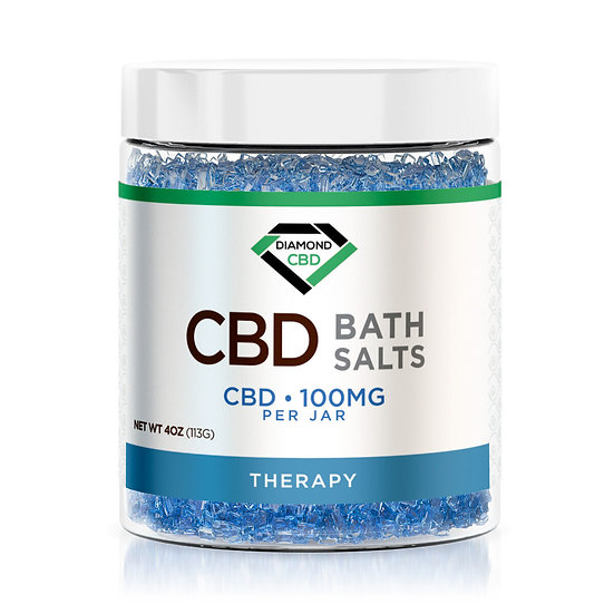 CBD Bath Salts - Therapy - 100mg