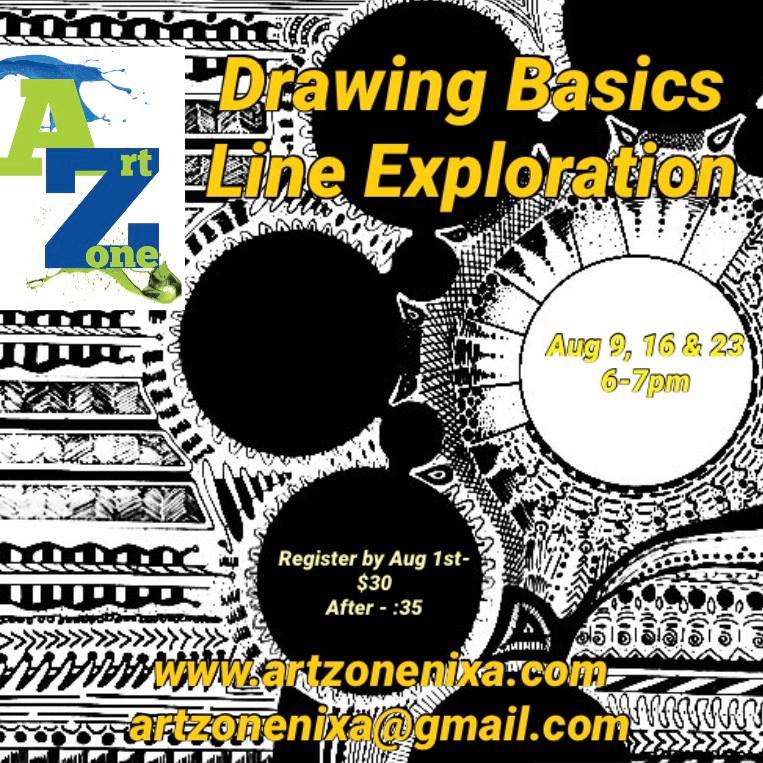 Drawing Basics: Line Exploration