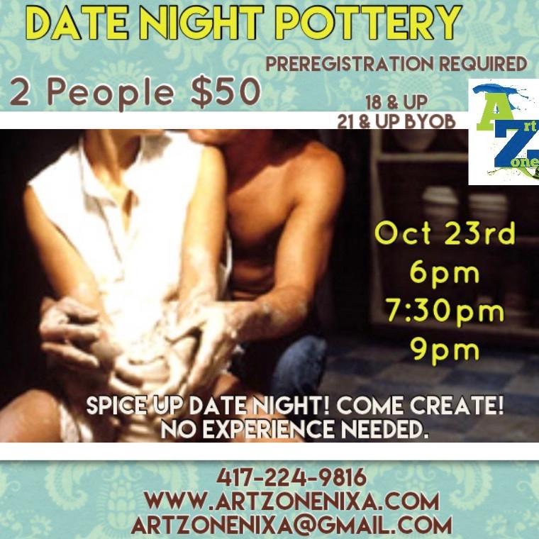 Date Night Pottery Wheel