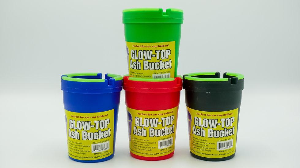 Glow-Top Ash Bucket