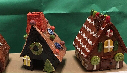 Create Small Gingerbread House