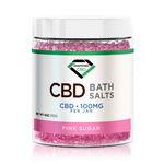 CBD Bath Salts - Pink Sugar - 100mg