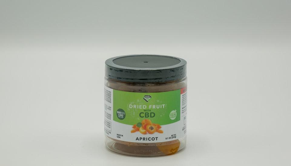 CBD Dried Fruit - Apricot - 500mg
