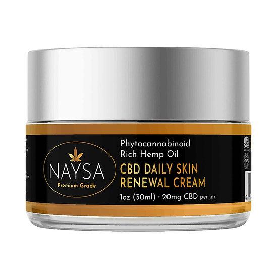 CBD Daily Skin Renewal Cream - 20mg