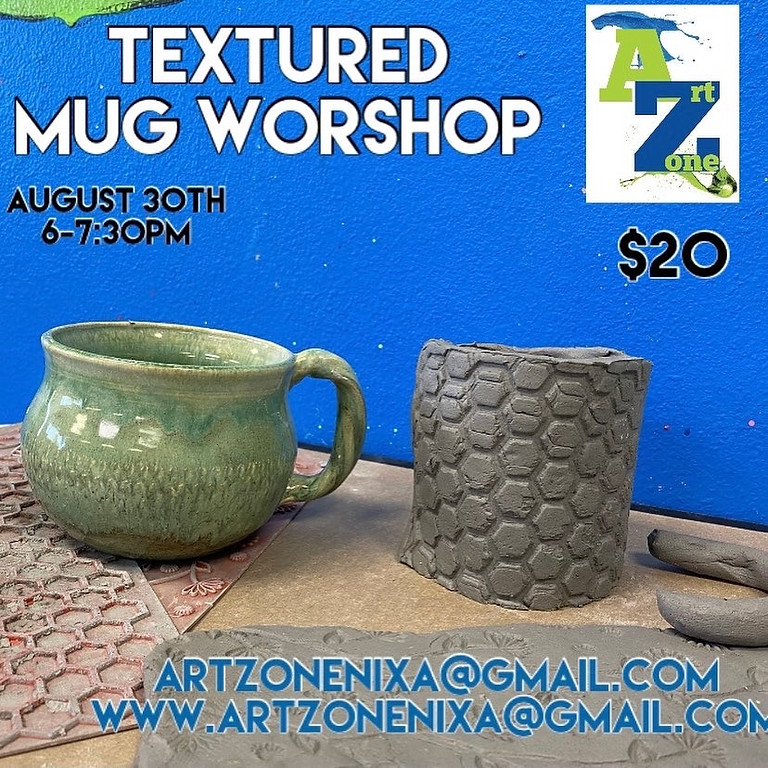Textured Mugs