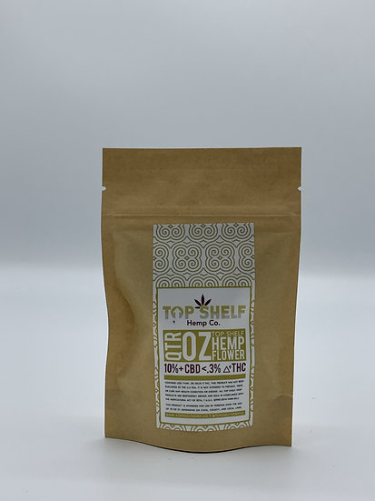 Top Shelf Hemp Flower - 1/4oz