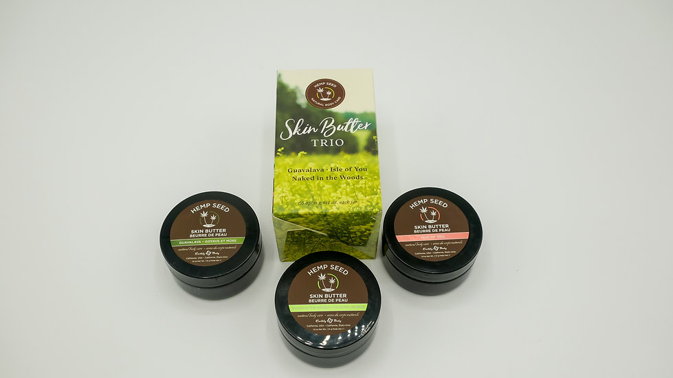 Hemp Seed Skin Butter Trio
