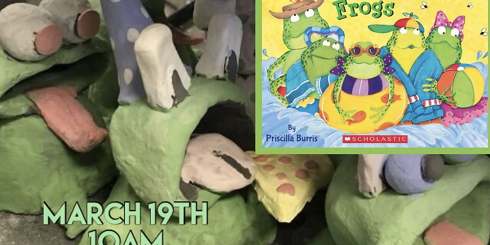 """StoryTime """"Five Speckled Frogs"""""""