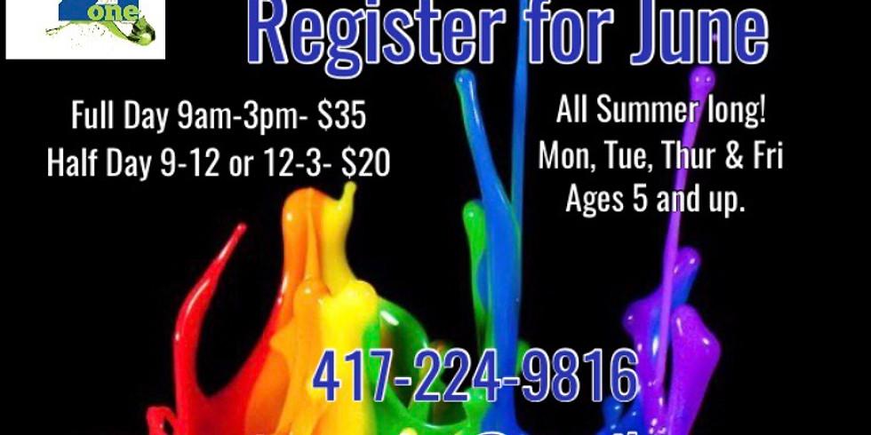 Summer Camp June Registration