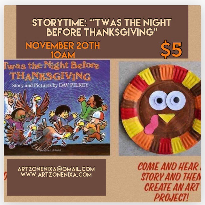 """StoryTime """"'Twas the Night Before Thanksgiving"""""""