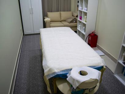 Окружающая обстановка массажного кабинета