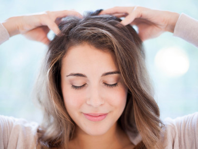 Самостоятельный массаж головы