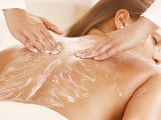 Техника массажа с кремом