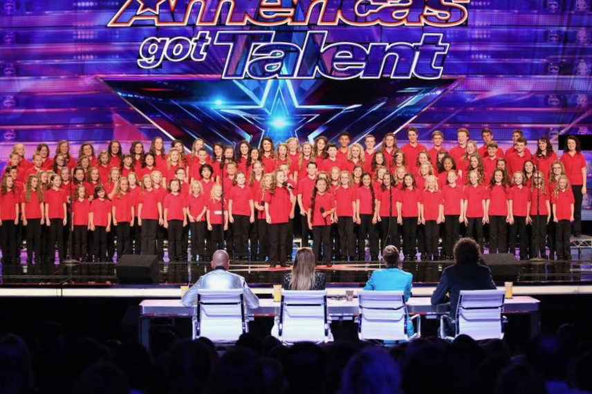 Choir on AGT