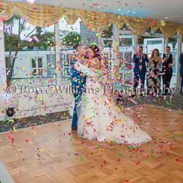 Confetti Bomb - Falmouth Hotel Wedding