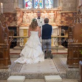 Lanhydrock Church Wedding