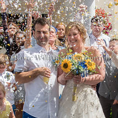Confetti - Penventon Wedding