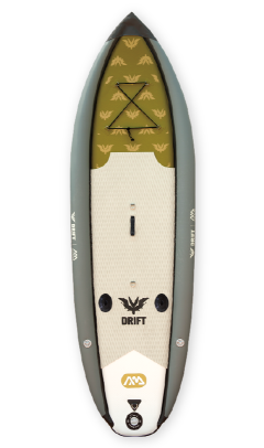 Sup planche gonflable pêche