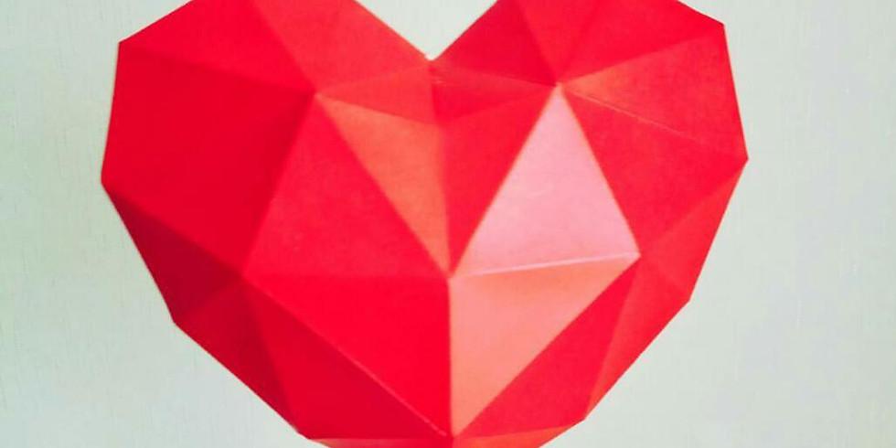 Курс по полигональным фигурам. Сердце и звезда