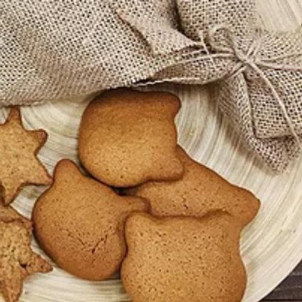 Печенье медово-имбирное