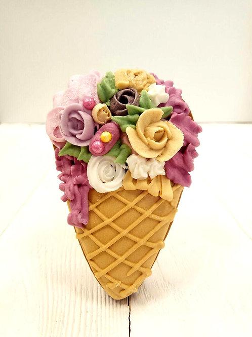 "Пряник ""Цветочное мороженое"""