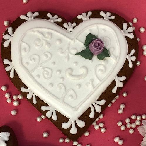 Большое свадебное сердце