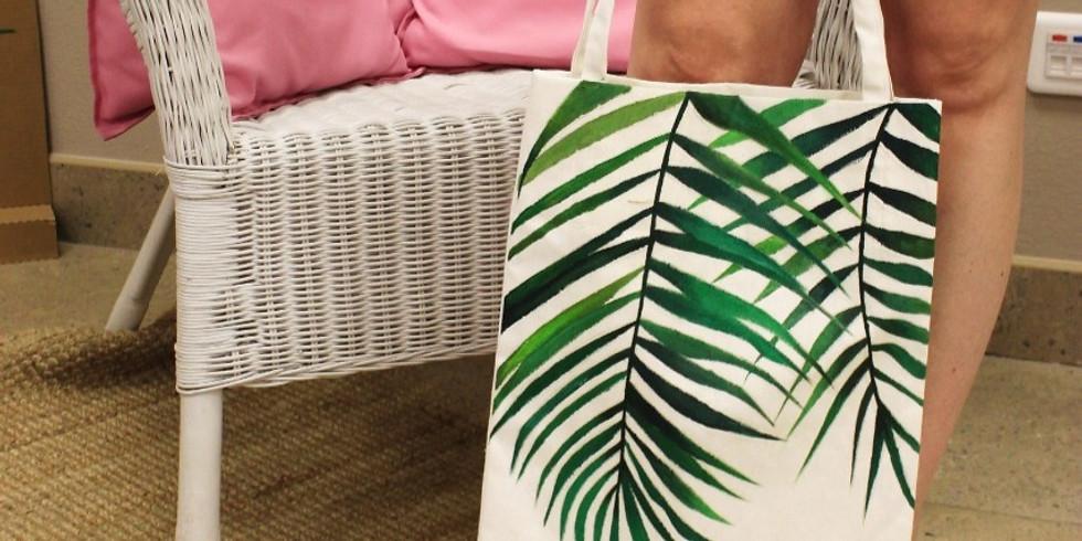 Роспись эко-сумок