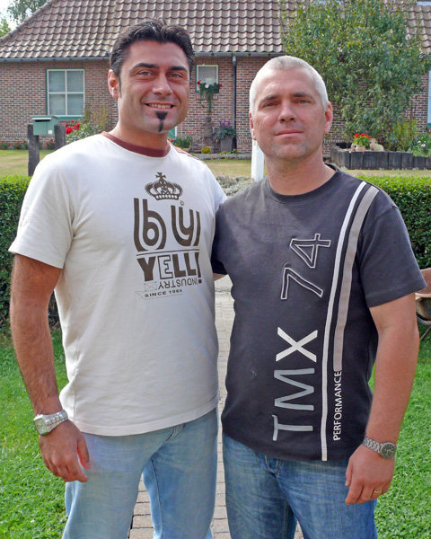 M. Ravaglioli e Bart De Croo