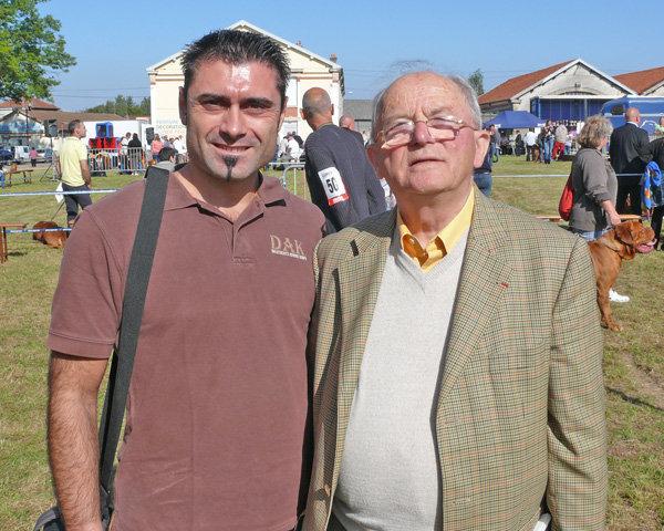 M. Ravaglioli e Raymond Triquet