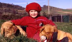 Tiziana con Cuccioli