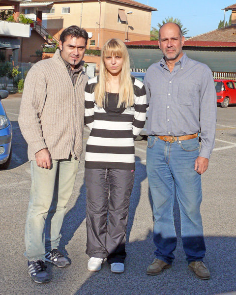 Massimiliano, Bojana e Stefano