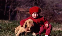 Tiziana con Cucciolo