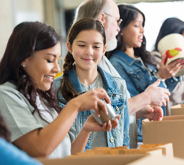 Volunteer or Donate to help feed hungry kids in our neighborhoods