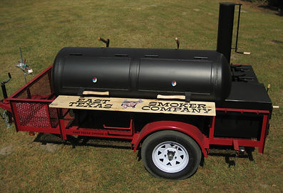 Tailgating BBQ Trailer