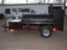 Aggie Tailgating BBQ Trailer