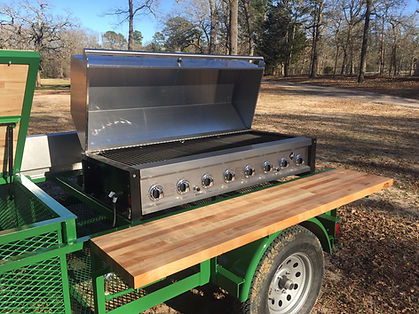8-Burner Event Grill with Stainless Steel Lid