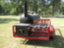Tailgating BBQ Trailer with star burner